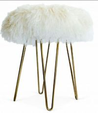Faux fur stool | House | Pinterest | Stools, Fur and ...