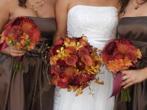1000+ Ideas About Chocolate Bridesmaid Dresses On