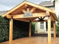 covered patio addition | lift it even custom welded and ...