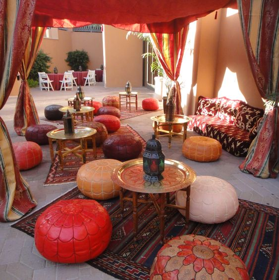Moroccan Tent and Lounge