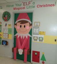 My classroom door Christmas 2013 | Elf on the Shelf ...