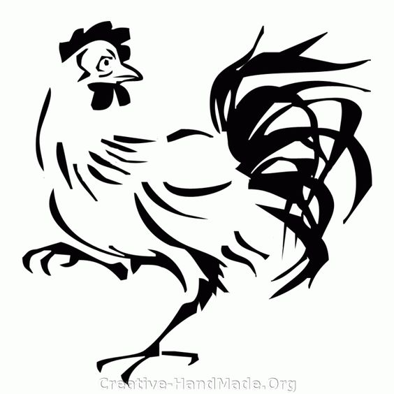 Image search, Free stencils and Chicken on Pinterest