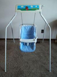 Vintage Graco Swyngomatic Wind Up Baby Swing | Vintage ...