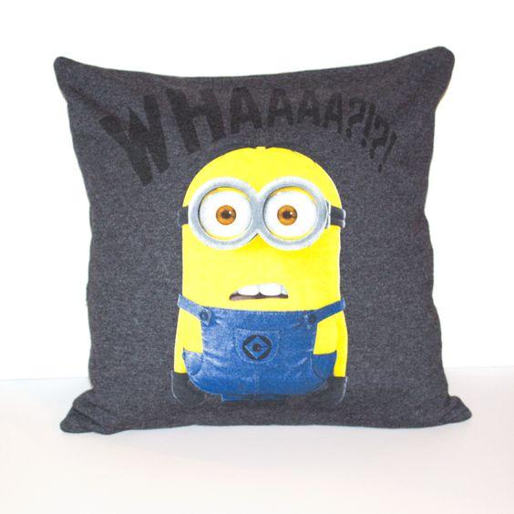 Minion pillow Minions and Pillows on Pinterest