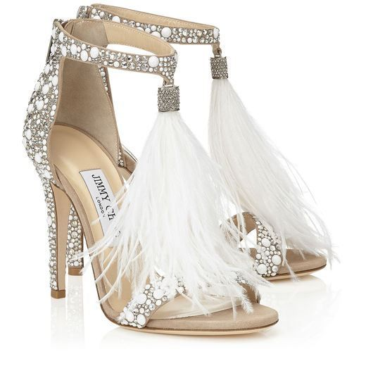 Image result for glamorous wedding shoes 2017 jimmy choo