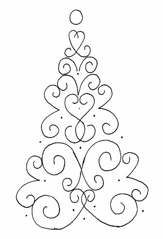 Tree patterns, Button tree and Free pattern on Pinterest