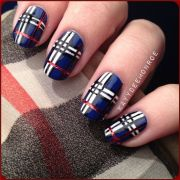 5 nail design inspired fabric