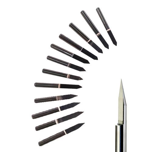 These carbide engraving cutter tool bits are for sign