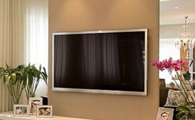40 Tv Wall Decor Ideas Glasses On The Side And Tv Walls