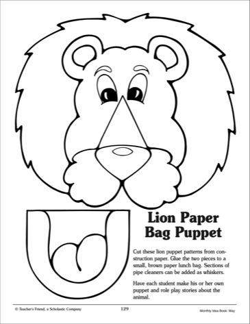 Paper, Lion and Printables on Pinterest
