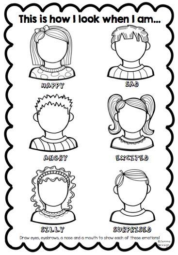 Exploring Emotions Worksheet from Miss Mac's Rockin