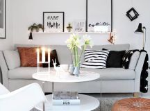 10 Ideas To Decorate Your Small Living Room In Your Rented ...