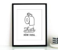 Funny bathroom, Toilet paper art and Bathroom art on Pinterest