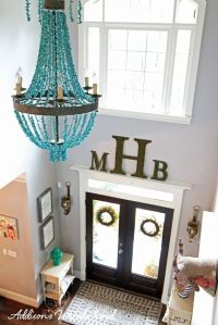 Our Statement Making Foyer Tour | 2 story foyer, The ...