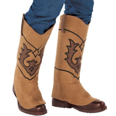 Cowboy Boot Covers Party City Boys Halloween