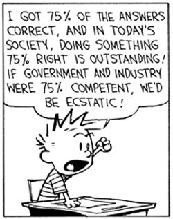 Calvin and hobbes, Calvin and hobbes comics and Sad on