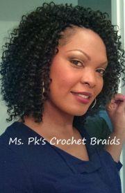 short crochet weave hairstyle