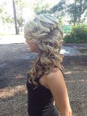 lovely long thick blonde curls