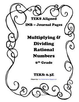 Interactive math journals, Dividing fractions and Venn