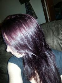 Age beautiful 4v dark plum brown. Love this color so much ...