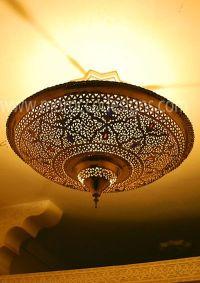 moroccan flush mount ceiling light fixture | Roselawnlutheran