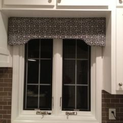 Kitchen Curtains Cheap Do It Yourself Outdoor Window Cornice Made From Joann's Kit. | Fun At ...