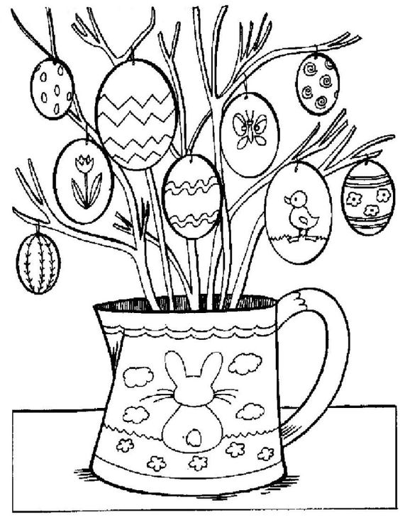Christian easter, Easter coloring pages and Coloring pages