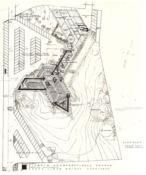 Church, Frank lloyd wright and 4 years on Pinterest