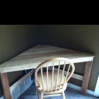 Corner desk, Desks and Pallets on Pinterest
