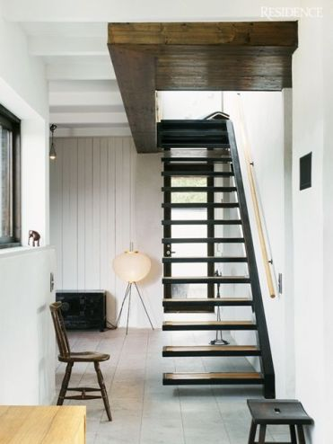 saving space with these stairs