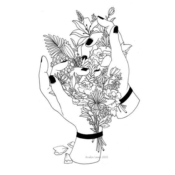 Sleep, Flower and Ps on Pinterest