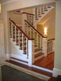 Staircases, Craftsman and Craftsman staircase on Pinterest