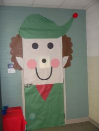 Elf door, Bags and Classroom on Pinterest