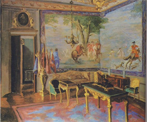 Marlborough Tapestries at Blenheim Palace by Winston Churchill.  Churchill painting as a pastime - Google Search: