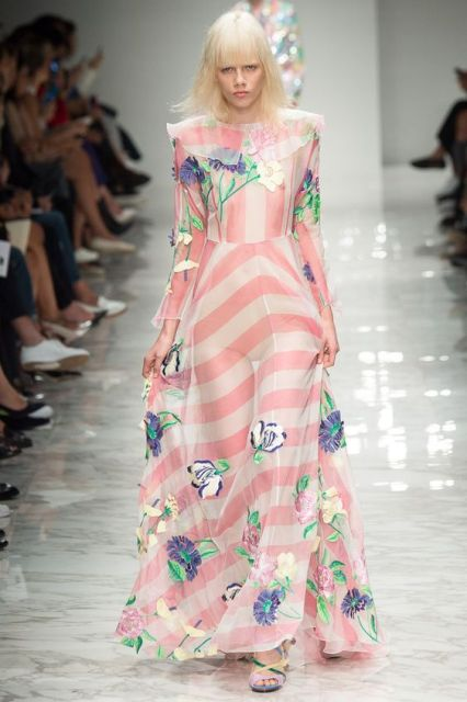 Blumarine Spring Summer 2016 - Preorder now on Moda Operandi: