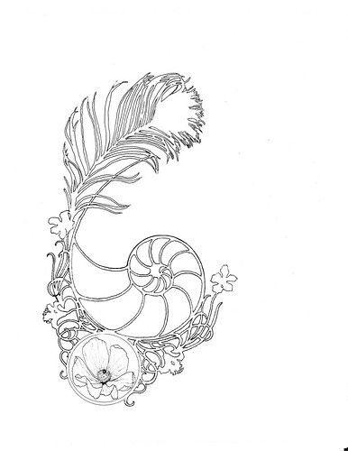 Golden ratio, Empty spaces and Fibonacci tattoo on Pinterest