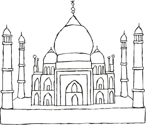 Drawings, Pictures and Taj mahal on Pinterest