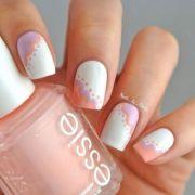 elegant spring nail design 2014