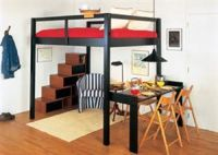 Adult Loft Beds with Stairs | winsome cool adult loft beds ...