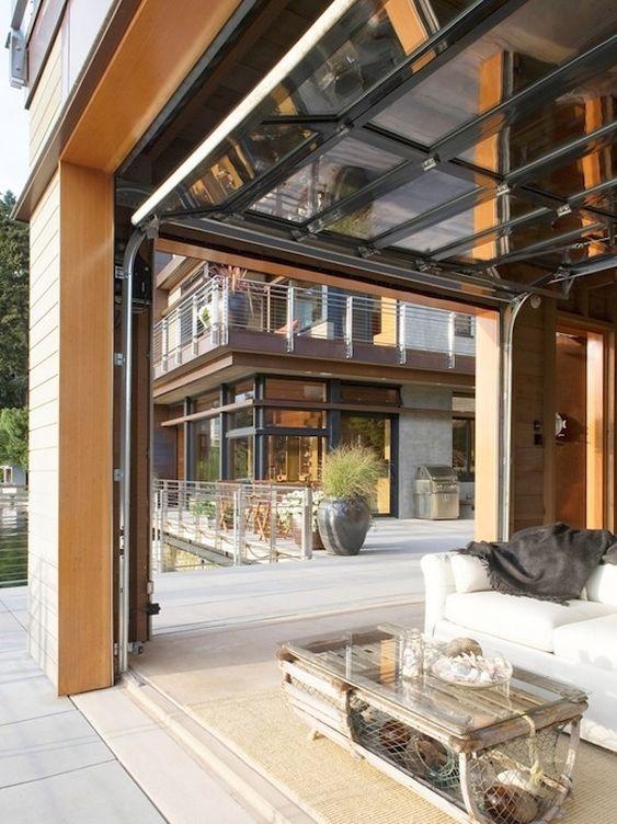 Garage Door  Decks Outdoor living and Living rooms