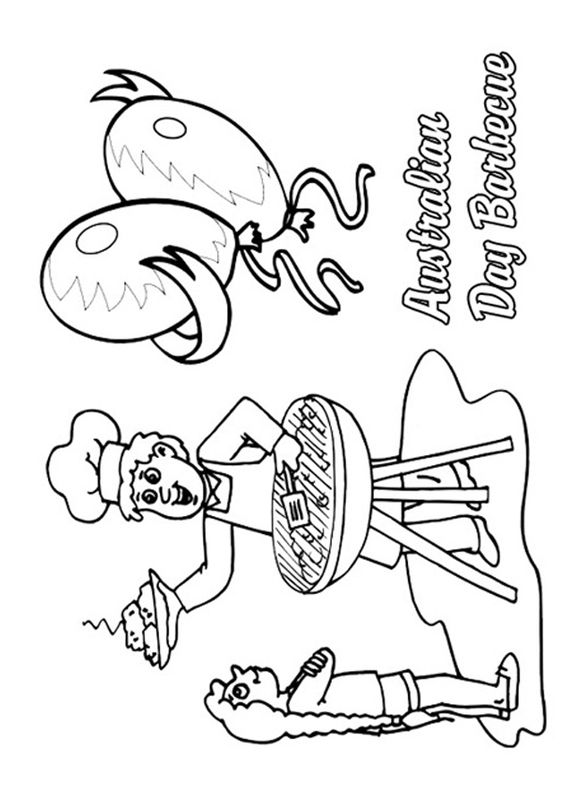 Activities, Australia and Coloring pages on Pinterest