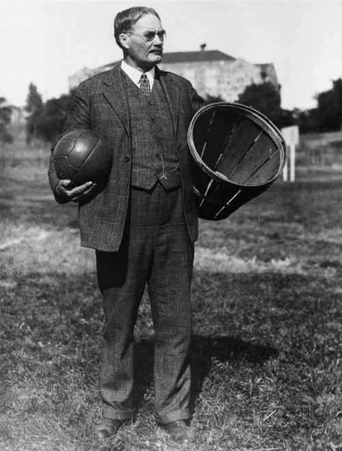 James Naismith, the inventor of basketball - 1891: