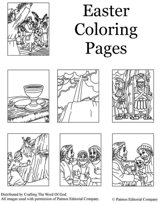 Coloring pages, Christ and Death on Pinterest