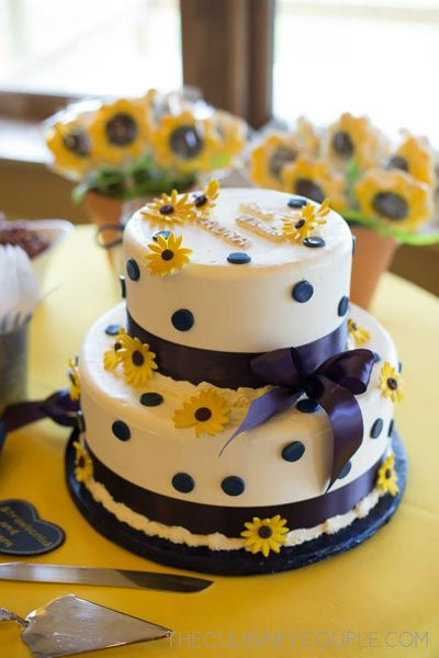 Pretty Sunflower Themed Bridal Shower PARTY IDEAS