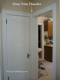 Craftsman style molding | of molding dissolves because ...