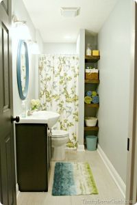 The finished basement | Pinterest | Basement bathroom ...