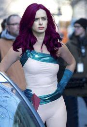 jessica jones purple hair