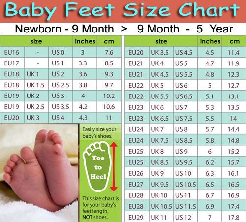 Baby Shoe Sizes 4U // hf   Helpful stuff   Pinterest ...