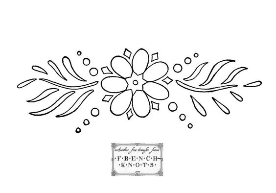 Flowers, Roses and Daisies Embroidery Transfer Patterns