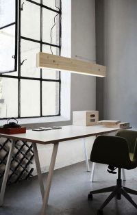 A Low Tech/High Tech Light | Ceiling lamps, Offices and Rustic